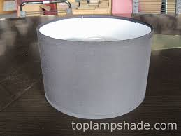 shallow drum shantung silk hardback lamp shade ls10001 manufacturer