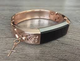 rose color bracelet images Rose gold color band for fitbit alta hr fitness tracker rose jpg