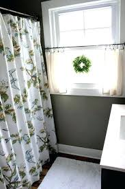 ideas for bathroom curtains bathroom valances ideas derekhansen me