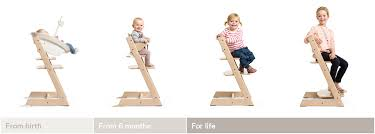 Swedish Wooden High Chair High Chair Tripp Trapp Stokke