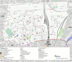 Map Of Paris France 18th Arrondissement Of Paris Map Map Of 18th Arrondissement Of