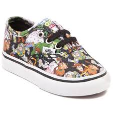 toddler vans authentic toy story skate shoe shopcade style