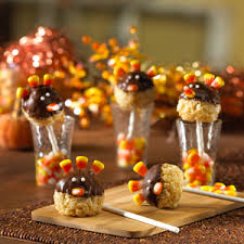 turkey pop treats rice krispies
