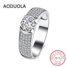 sted rings 925 sterling silver ring shape with zircon and