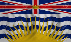 Flag British Columbia Canadian Provincial Bc Patriotic Element And Official Symbol