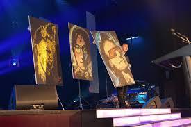 charity events brad blaze speed painter performance artist