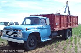 Vintage Ford F600 Truck Parts - 1966 ford f600 grain truck item da6040 sold may 3 ag eq
