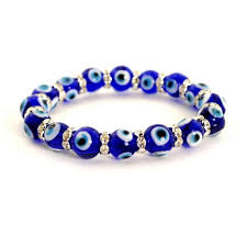 bracelet evil eye jewelry images Evil eye bead bracelet 10mm blue stretch good luck protection JPG