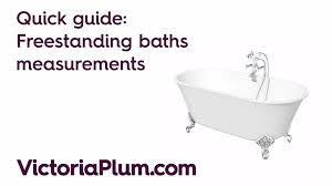 Average Width Of A Bathtub What Is A Standard Bath Size Victoriaplum Com