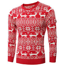 wholesale sweaters deer pattern sweater for mens wholesale winter national