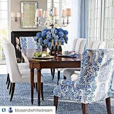 Dining Room Accents Astonishing Popular Kitchen Awesome Blue And White Dining Room