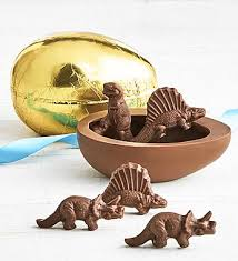 chocolate dinosaur egg coco foil wrapped chocolate egg with dinosaurs