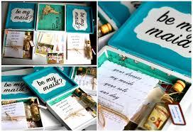 bridesmaids invitation boxes asking my bridesmaids bridesmaid boxes diy forum passport