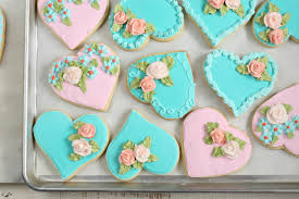 Decorated Heart Shaped Sugar Cookies A Farmgirl s Kitchen