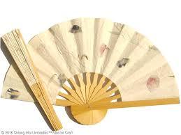 custom hand fans no minimum pressed flowers fans wedding fans sunisa umbrella factory