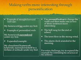 personification and story endings can you identify the