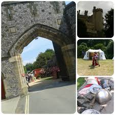 medieval tournament week at arundel castle the soup dragon says