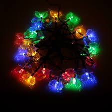 aliexpress com buy 4 7m 20 led colorful butterfly led string
