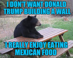 Building Memes - i don t want donald trump building a wall i really enjoy eating