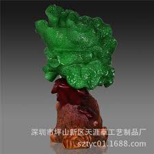 factory wholesale imitation jade cabbage crafts resin ornaments