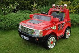 red land rover land rover elektromobiliai vaikams