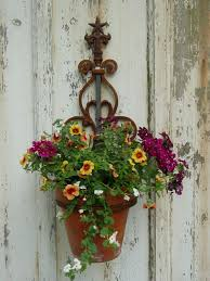 Wall Mounted Flower Pot Holder Wall Mounted Plant Holder Steel Pot Ring