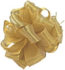wired ribbon offray wired edge firefly metallic sheer craft ribbon