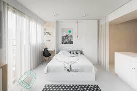 20 sqm modern efficiency apartment interior design with folding