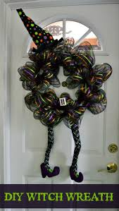 the 25 best halloween witch wreath ideas on pinterest witch