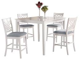 tall white kitchen table impressive white high dining table 5 furniture end room tables top