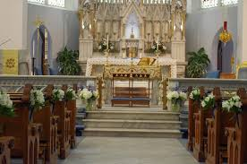 wedding flowers jacksonville fl immaculate conception catholic church a happily after floral
