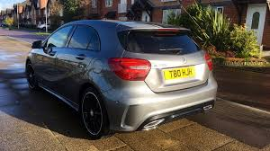 mercedes a class diesel mercedes a class a200d amg line executive with panoramic roof