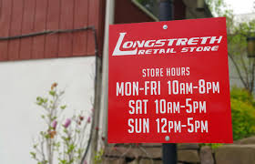 longstreth sporting goods retail store hours