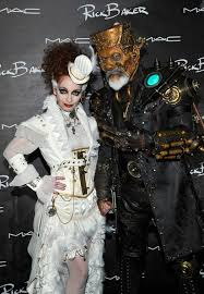 Steampunk Halloween Costumes Rick Silvia Baker Halloween Parties Steampunk Makeup