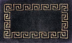 Black And Gold Bathroom Rugs Charming Black Bathroom Rug Classof Co