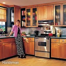 how to clean varnished cupboards how to refinish kitchen cabinets diy