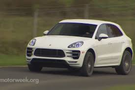Porsche Cayenne 911 - video motorweek reviews macan turbo more
