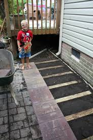 Installing Patio Pavers On Sand How To Lay A Brick Paver Patio Or Path Sand And Sisal