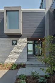 Home Exterior Design Brick And Stone Architecture Great Stone Slate Floring Enterence Also Stone Brick