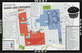 San Francisco Map Pdf by Gangs And Cupcakes Violence And Sugar Go Together The Atlantic