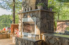 Outdoor Patio Fireplaces Outdoor Fireplaces Stone Or Brick Madison Wi