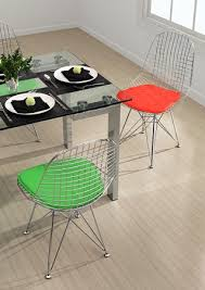 Wire Desk Chair Homethangs Com Has Introduced A Guide To Mid Century Modern Dining