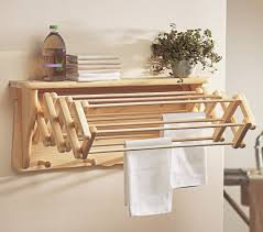 ideas beadboard drying rack wall mounted folding clothes drying