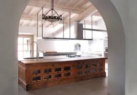 kitchen island antique repurposed reclaimed nontraditional kitchen island