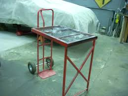 Welding Table Plans by My Portable Welding Table The Garage Journal Board Brite Ideas