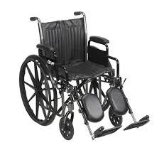 Drive Wheel Chair Silver Sport 2 Wheelchair By Drive Medical