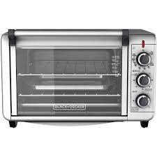Rating Toaster Ovens Black Decker 6 Slice Convection Countertop Toaster Oven Silver