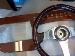 dash panels color matched with steering wheel felix marine
