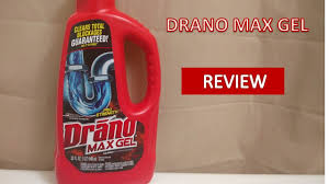 drano max gel clog remover review youtube