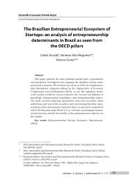 Entrepreneur Resume The Brazilian Entrepreneurial Ecosystem Of Startups An Analysis Of E U2026